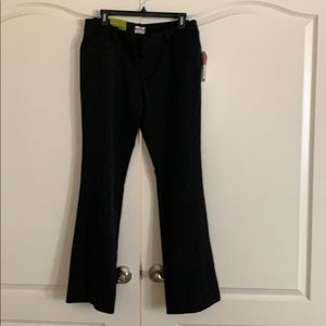 Size 12 Merona Black Boot Cut Pants